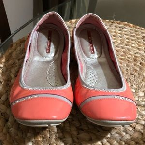 Prada shoes in color pink size 7